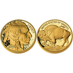 2008 United States Mint American Buffalo One Ounce Gold Bullion Coin