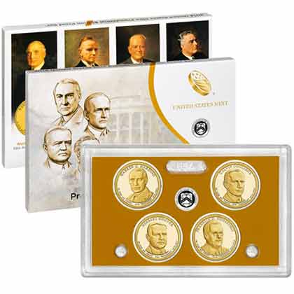 2014 United States Mint Presidential $1 Coin Proof Set™